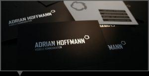 Adrian Hoffmann - carte de vizita