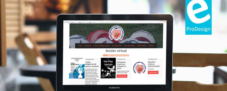 Direcția Județeană de Sport și Tineret Brăila