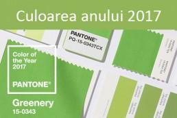Culoarea anului 2017 - Greenery